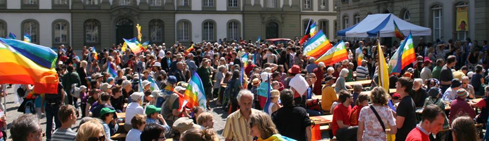 Ostermarsch Bern | Marche de Pâques